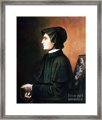 Elizabeth Ann Seton Framed Print by Granger