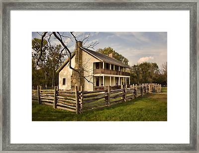 Elkhorn Tavern Framed Print by Lana Trussell