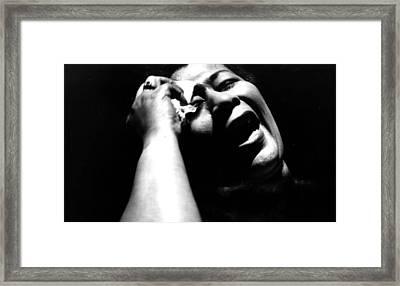 Ella Fitzgerald Framed Print by American School