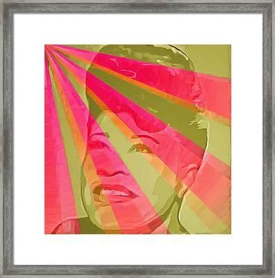 Ella Fitzgerald Pop Art Framed Print by Dan Sproul