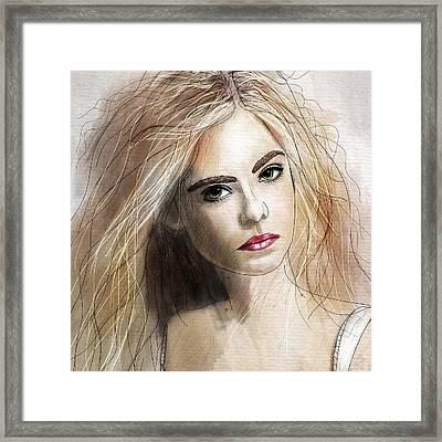 Elle  Framed Print by Gary Bodnar