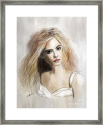Ellie Framed Print by Gary Bodnar