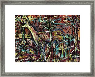 Elusive Framed Print by Robert Wolverton Jr