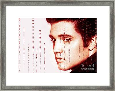 Elvis Preslely Framed Print by Prarthana Kulasekara