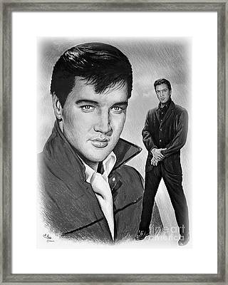 Elvis Roustabout Framed Print by Andrew Read
