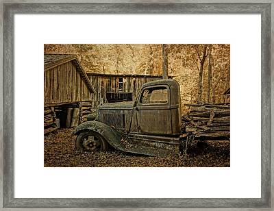 Ely's Mill Dodge Framed Print by Dan Sproul
