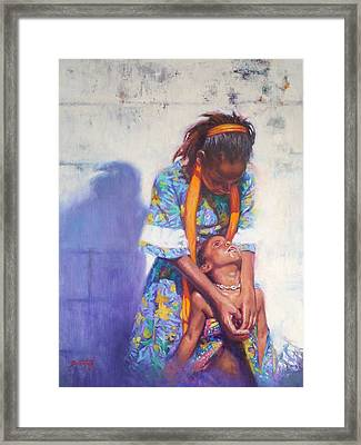 Emancipation Framed Print by Colin Bootman