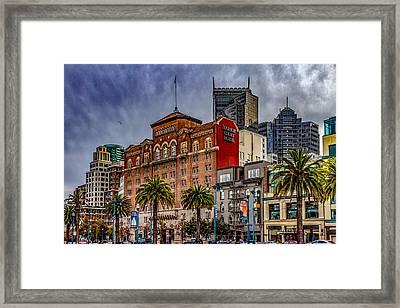 Embarcadero Street Framed Print by Bill Gallagher