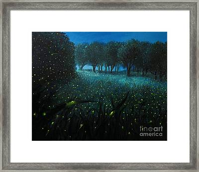 Ember Of Life Framed Print by Kiril Stanchev