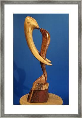 Embrace II Framed Print by Windy Dankoff