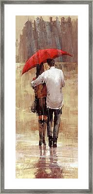 Embrace Framed Print by Matthew Myles