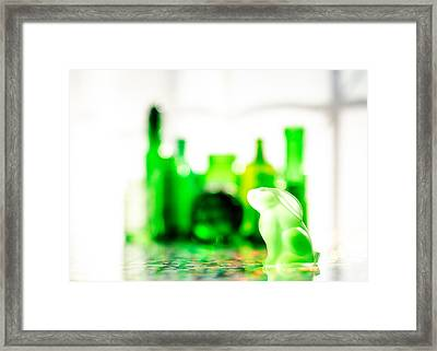 Emerald City V Framed Print by Jon Woodhams