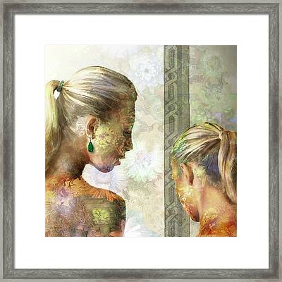 Emerald Framed Print by Van Renselar