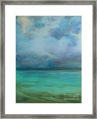 Emerald Waters Framed Print by Michele Hollister - for Nancy Asbell