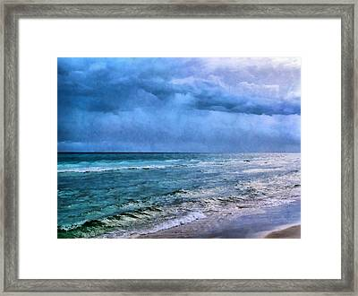Emerald Waters Framed Print by Theresa Campbell