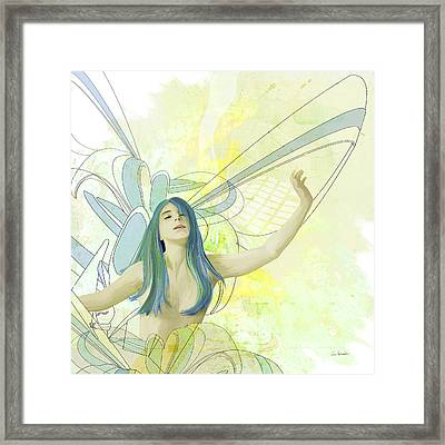 Emergence Framed Print by Van Renselar