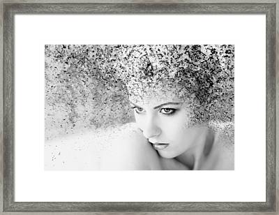 Emerging Framed Print by Mel Brackstone
