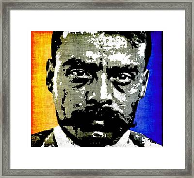 Emiliano Zapata  Framed Print by Otis Porritt