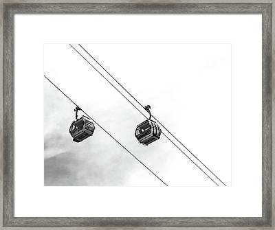 Emirates Airline Framed Print by Martin Newman