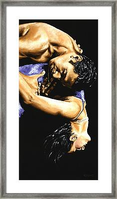 Emotional Tango Framed Print by Richard Young