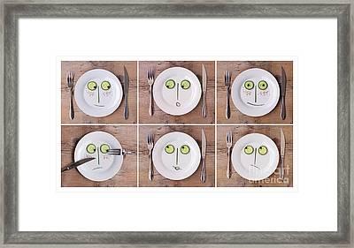Emotions 02 Framed Print by Nailia Schwarz