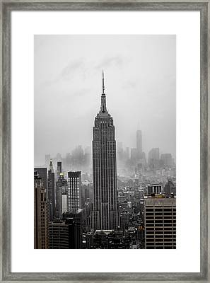Empire Framed Print by Martin Newman