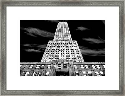 Empire State   Framed Print by Az Jackson
