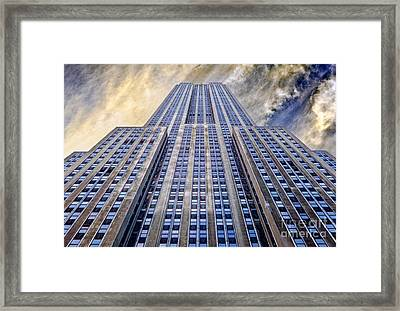 Empire State Building  Framed Print by John Farnan