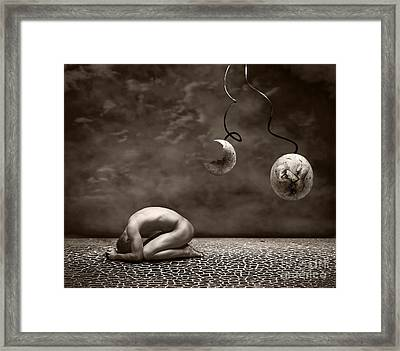 Emptiness Framed Print by Photodream Art