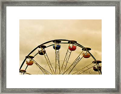 Empty Seats Framed Print by Bob Orsillo