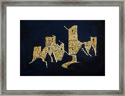 Empty Shadows Framed Print by Jerry McElroy