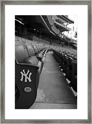 Empty Stadium Framed Print by Michael Albright