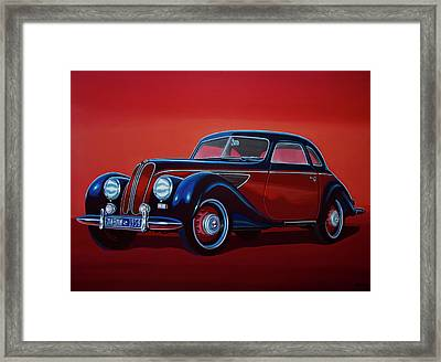 Emw Bmw 1951 Painting Framed Print by Paul Meijering
