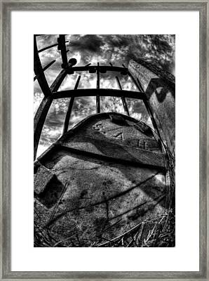 Encased Framed Print by Tom Melo