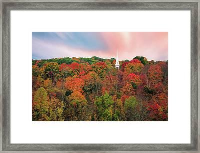 Enchanted Autumn Hillside - Thomasschoeller.photography  Framed Print by Thomas Schoeller