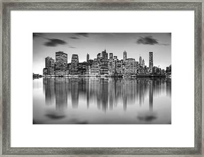 Enchanted City Framed Print by Az Jackson
