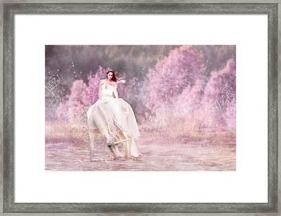 Enchanted  Framed Print by Pamela Hagedoorn