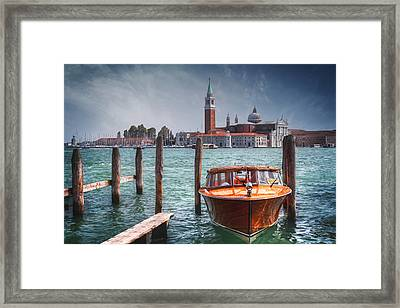 Enchanting Venice Framed Print by Carol Japp