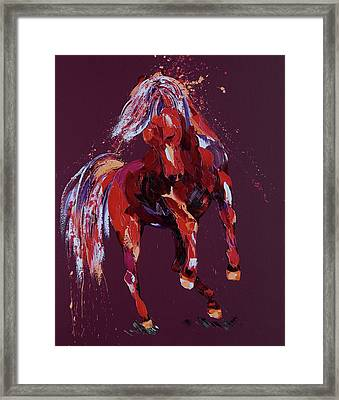 Enchantress Framed Print by Penny Warden