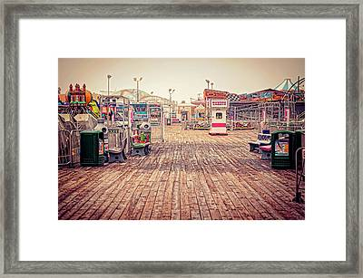 End Of Summer Framed Print by Heather Applegate
