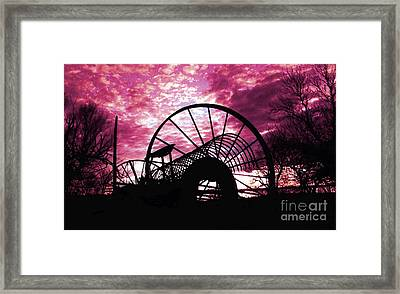 End Of The Day Framed Print by Terril Heilman