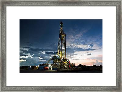 End Of The Hitch Framed Print by Jonas Wingfield