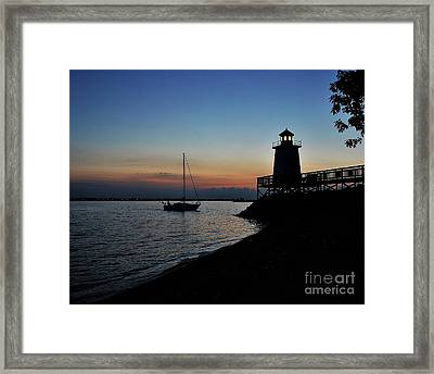 End Of The Journey   Framed Print by Gary Walker