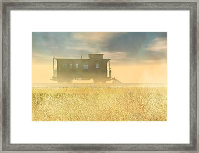 End Of The Line II Framed Print by Carol and Mike Werner