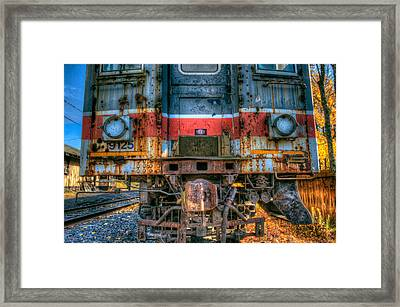 End Of The Line Framed Print by William Jobes
