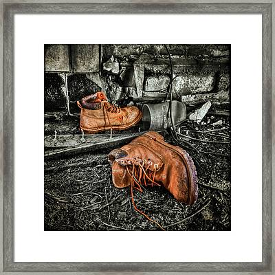 End Of The Road Framed Print by Evelina Kremsdorf