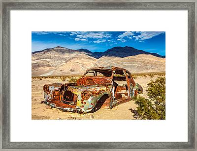 End Of The Road Framed Print by James Marvin Phelps