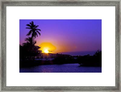 Endless Bahia Honda Framed Print by W Scott Morrison