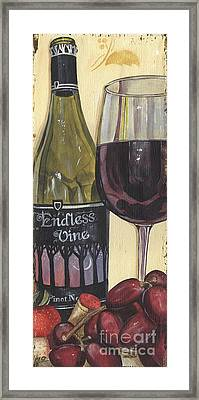 Endless Vine Panel Framed Print by Debbie DeWitt