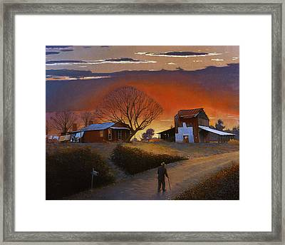 Endurance Framed Print by Doug Strickland